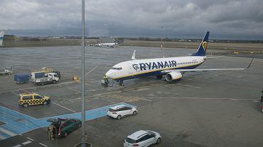 Lotnisko w Poznaniu / zdjęcie ilustracyjne