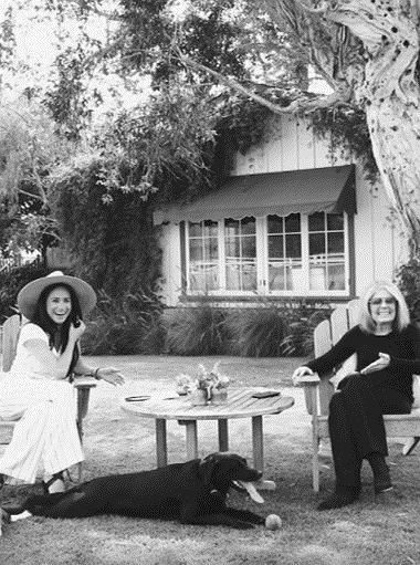 Meghan Markle i Gloria Steinem