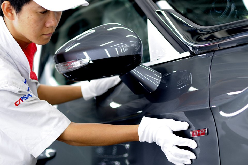 Fabryka Dongfeng Peugeot Citroen Automobile w Shenzhen