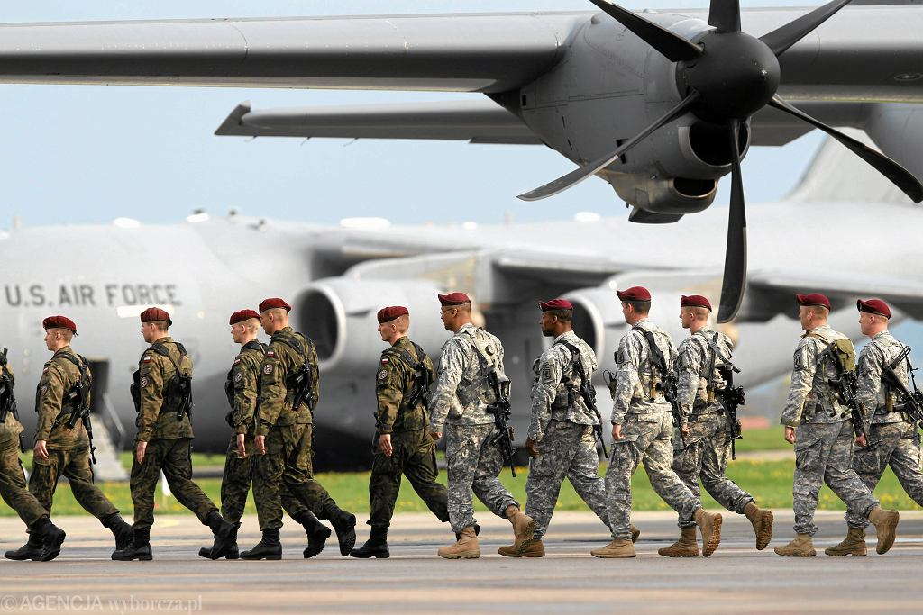 Amerykańscy żołnierze w Polsce. Przylecieli na ćwiczenia