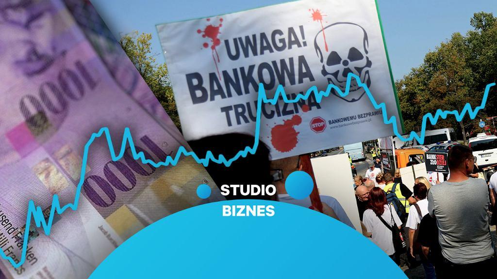 'Studio biznes' na żywo - poruszy kwestię upadku biura Neckermann Polska i wyroku TSUE ws. frankowiczów
