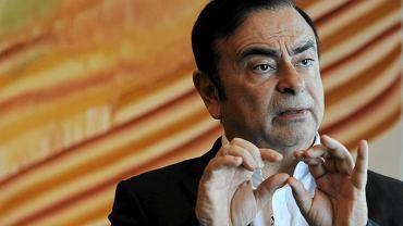 Odwołany prezes Nissana Carlos Ghosn.