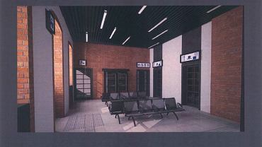 Tak wyglądać ma wnętrze przebudowanego dworca PKP w Dąbrowie Górniczej