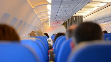 Zamieszanie wokół maseczki na pokładzie samolotu Spirit Airlines