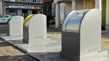 Podziemne pojemniki w Toruniu - w Opolu pojawią się podobne