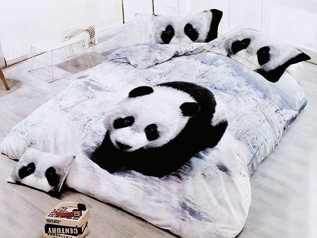 Pościel dziecięca z motywem pandy