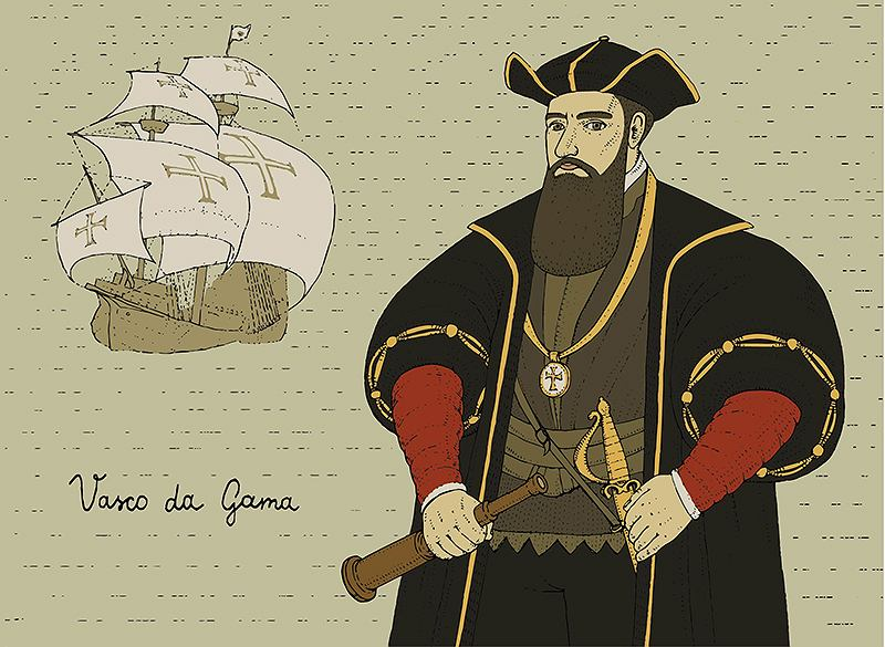 Vasco Da Gama przywiózł pościel z dalekiej podróży