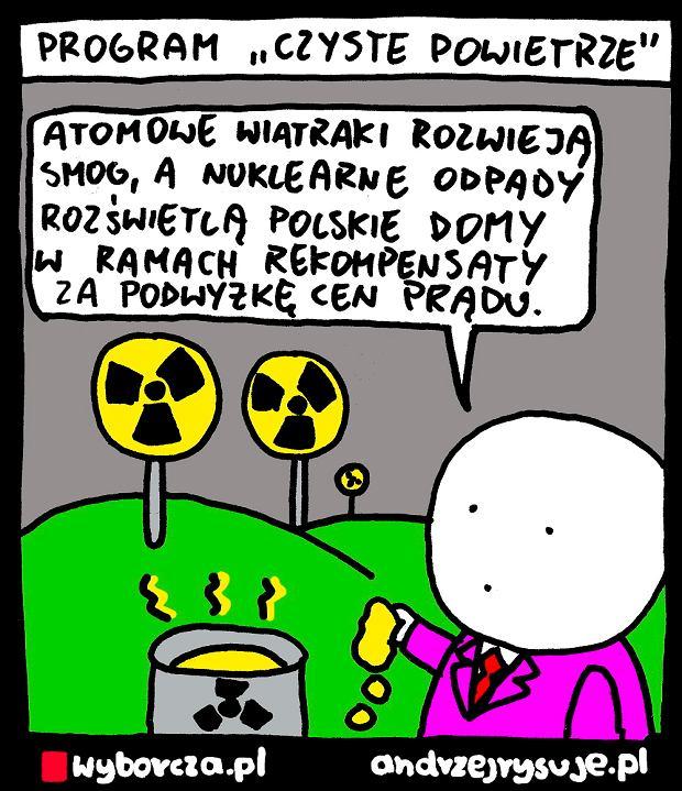 Andrzej Rysuje   CZYSTE POWIETRZE - Andrzej Rysuje, 14.12.2018 -