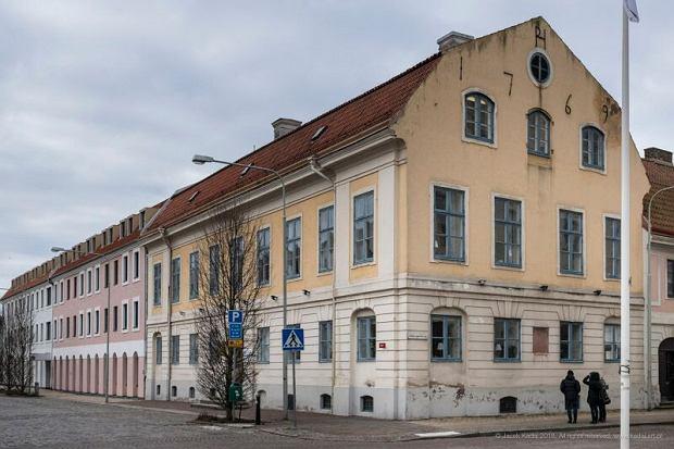 Budynek szkoły, w której mieszkała Selma Lagerlöf