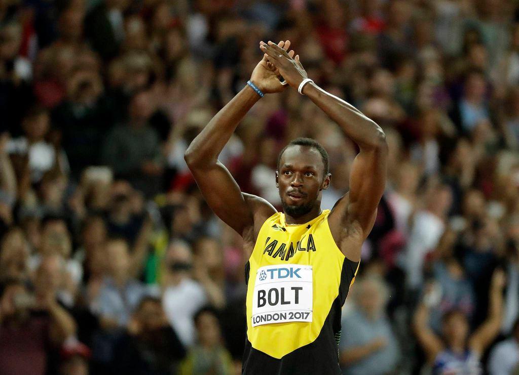 Usain Bolt podczas eliminacji