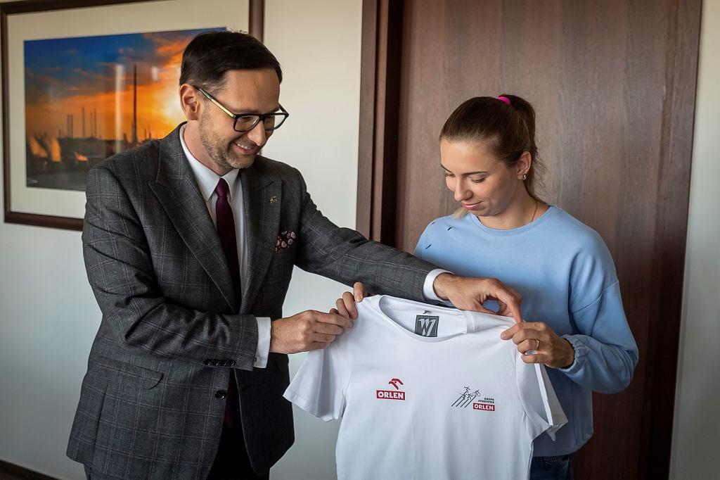 Kristina Cimanouska dołączyła do Grupy Sportowej Orlen