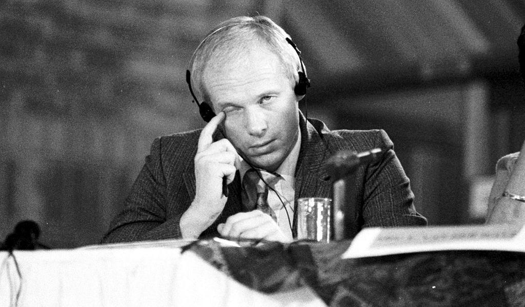 Janusz Waluś podczas przesłuchania w 1993 r.