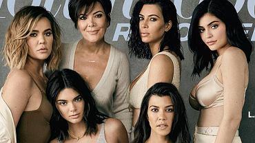 Kardashian i Jenner na okładce 'The Hollywod Reporter'