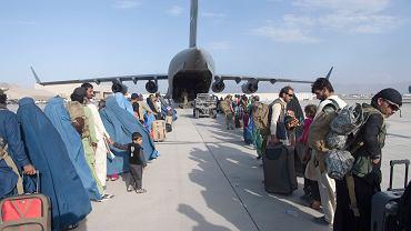 Ewakuacja ludności z Afganistanu
