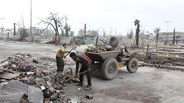 Zniszczony iracki Mosul, zdjęcie z 5 stycznia 2018 r.