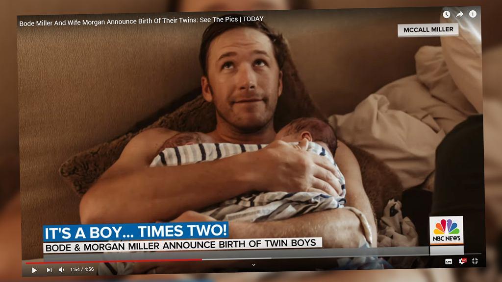 Miller odebrał poród swoich dzieci