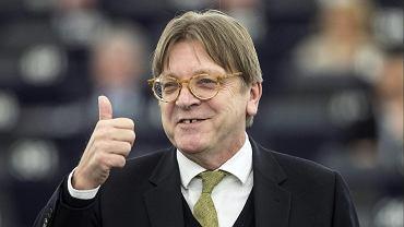 Guy Verhofstadt w Parlamencie Europejskim