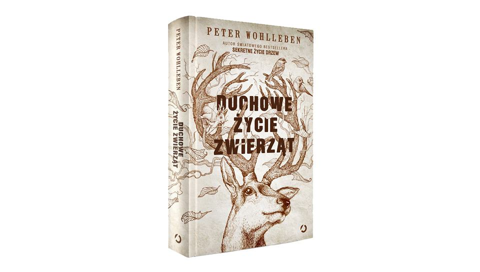 Okładka polskiego wydania książki 'Duchowe życie zwierząt'