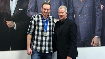 Vital Heynen przekazał srebrny medal Pucharu Świata Jakubowi Procaninowi