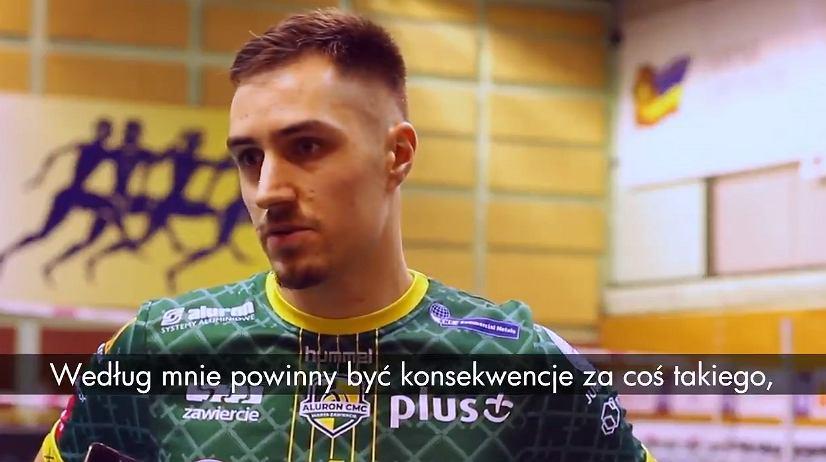 Mateusz Malinowski mówi o zachowaniu Andrei Anastasiego