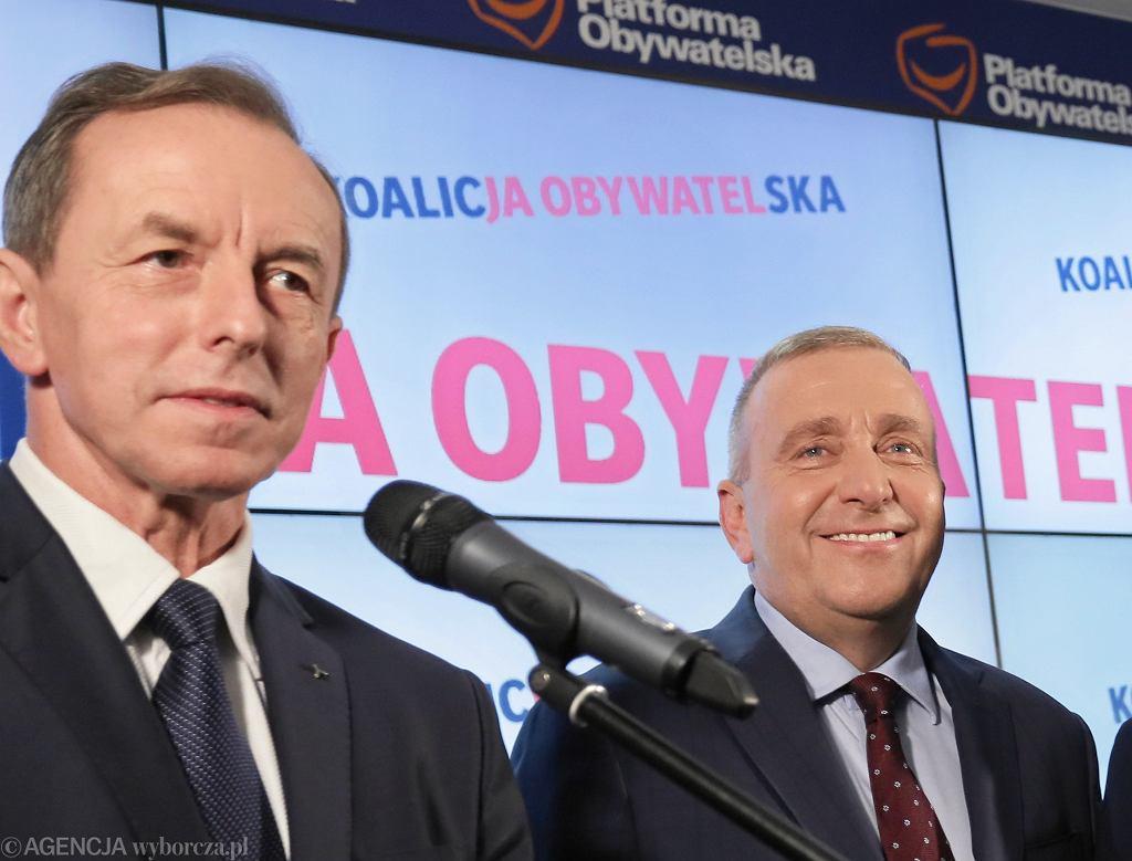 Tomasz Grodzki i Grzegorz Schetyna