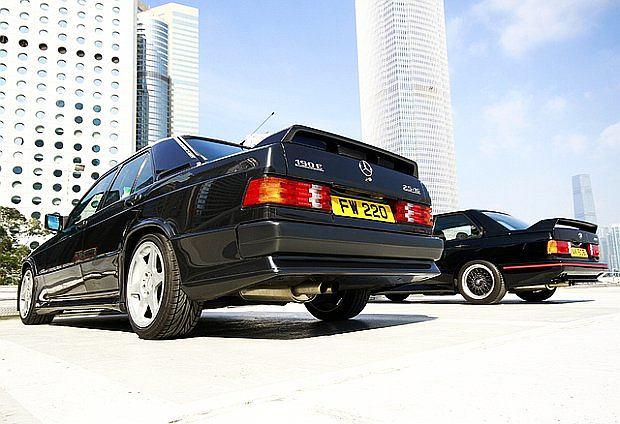Głównym konkurentem Mercedesa 190E 2.5-16 Evolution było BMW M3