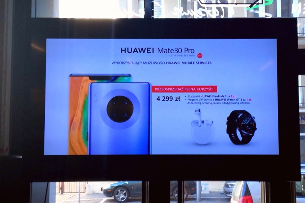 Huawei Mate 30 Pro z Huawei Mobile Services w Polsce