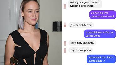 """Matylda Damięcka pokazała wiadomości od roszczeniowych fanów. """"Twórz dla nas, ale nie sięgaj do naszych kieszeni darmozjadzie"""""""