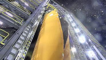 NASA testy zbiornika paliw