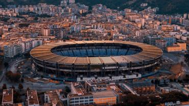 Stadio San Paolo - stadion SSC Napoli, którego nazwa ma być zmieniona na Stadio Diego Armando Maradona. Źródło: Fabrizio Romano (Twitter)