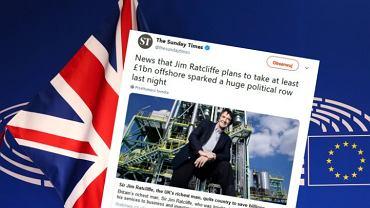 Brexit straszy miliarderów? Jim Ratcliffe ma wynieść się z podatkami do Monako