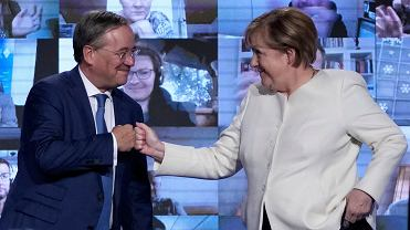 Merkel chwali Lascheta jako kandydata europejskiego formatu