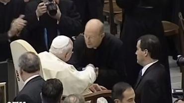 Marcial Maciel Degollado na spotkaniu z papieżem