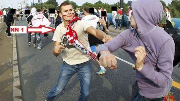 Policja prosi o pomoc w rozpoznaniu uczestników zamieszek przed meczem Polska-Rosja