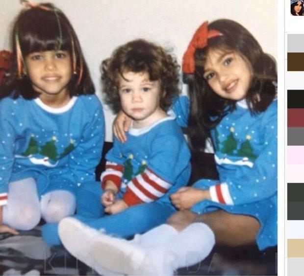 Kourtney Kardashian, Khloe Kardashian i Kim Kardashian