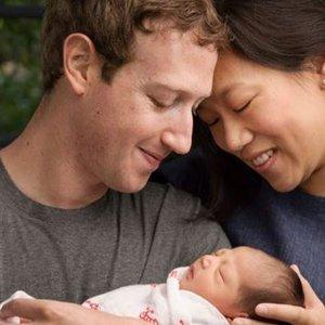 Mark Zuckerberg z rodziną