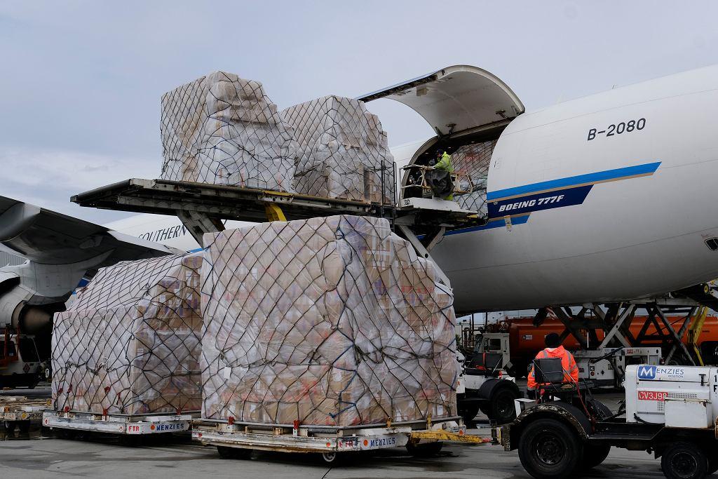 Samolot transportowy - zdjęcie ilustracyjne