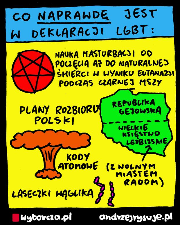 Andrzej Rysuje | Karta LGBT - Andrzej Rysuje | 10.03.2019 -