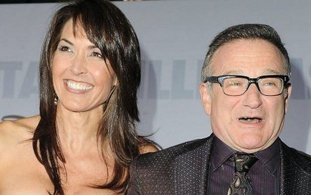 Susan Schneider i Robin Williams