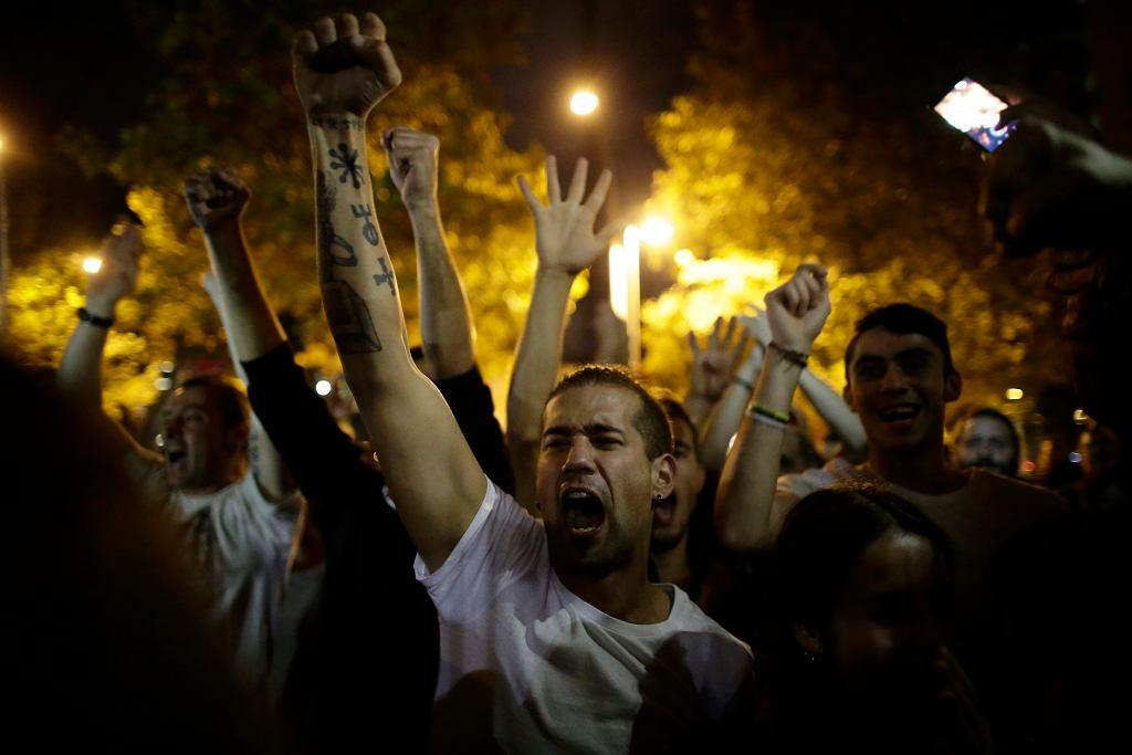 Referendum w Katalonii. Radość na ulicach
