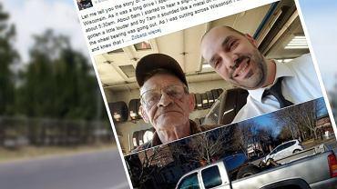 Todd Steinkamp opisał historię swojego spotkania z Glennem, który bezinteresownie pomógł mu w potrzebie