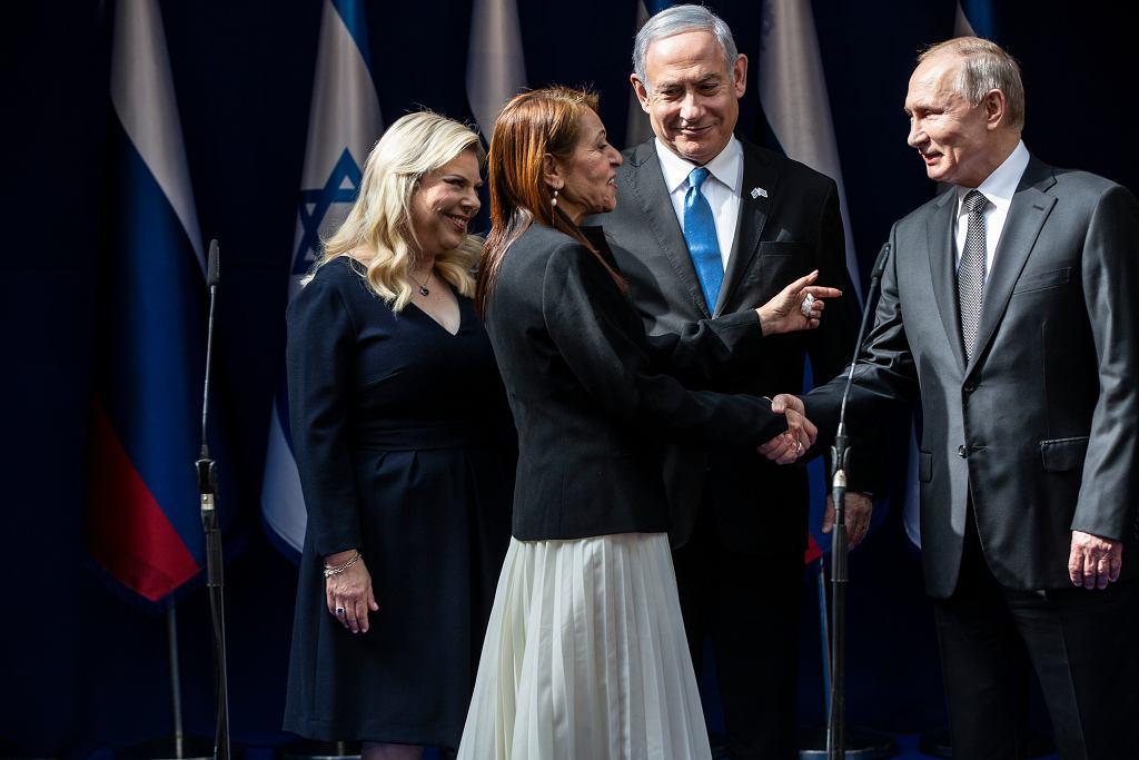 Yaffa Issachar, matka skazanej w Rosji za posiadanie narkotyków obywatelki Izraela spotkała się z Władimirem Putinem na uroczystościach w Izraelu