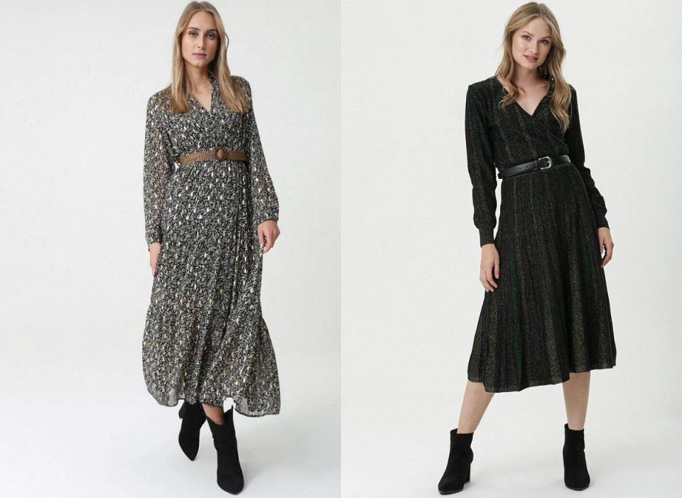 Sukienki z paskiem na co dzień