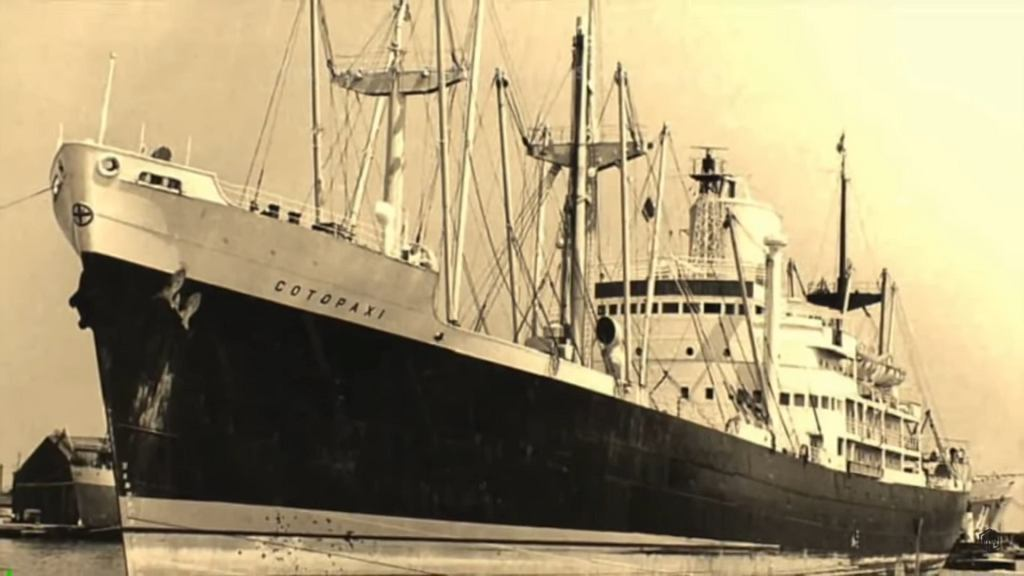 Statek SS Cotopaxi