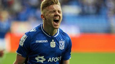 Lech Poznań - Pogoń Szczecin 3:2. Kamil Jóźwiak strzelił dwa gole i miał asystę