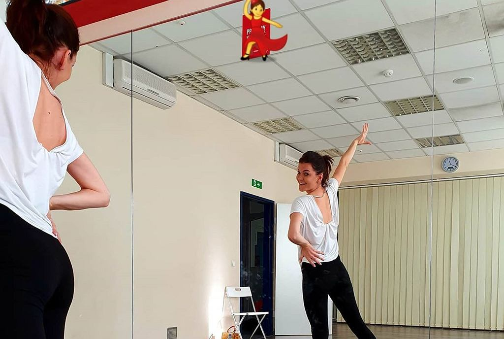 Agnieszka Radwańska - trening
