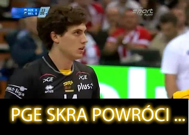 Aleksandar Atanasijević z PGE Skry Bełchatów w promocyjnym filmiku przed nowym sezonem