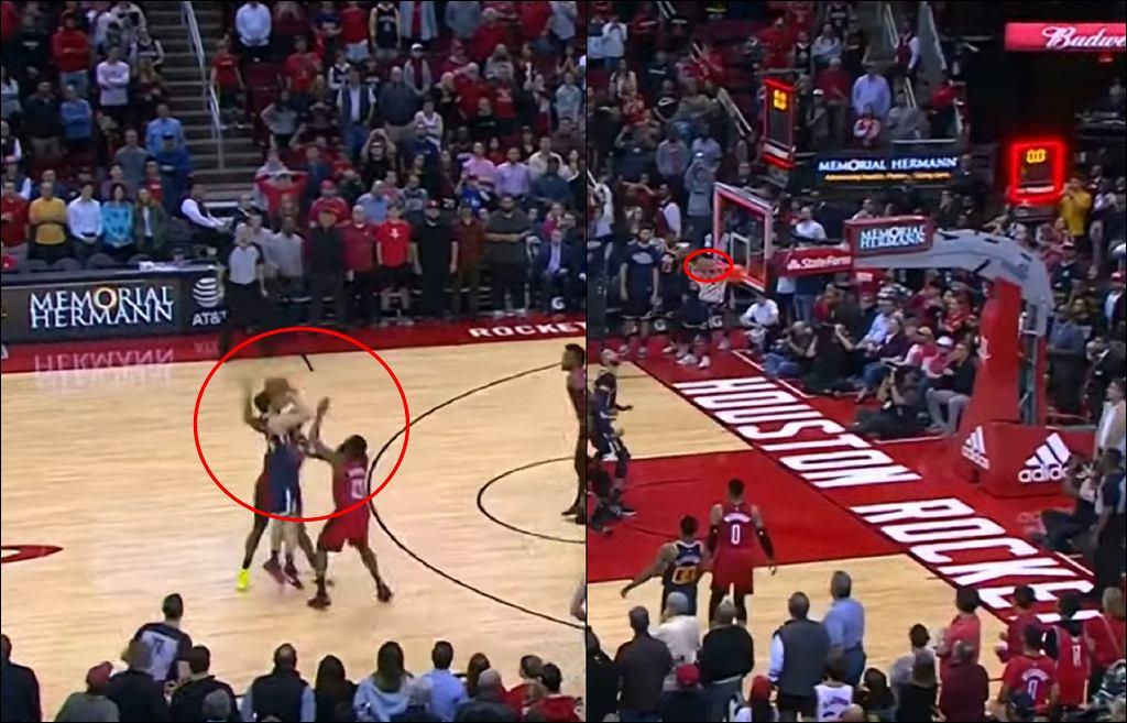 Niesamowita sytuacja w meczu NBA! Ten rzut przejdzie do historii [WIDEO]