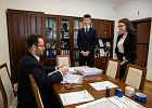 """Strajk nauczycieli. Dyrektor IV LO w Sosnowcu: """"Nie wiem, czy maturzyści zostaną dopuszczeni do egzaminu"""""""