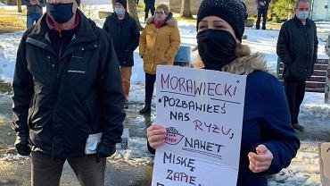 Protest w Lądku-Zdroju
